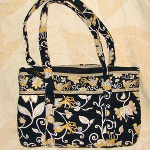 Vera Bradley Yellow Bird tote handbag purse EUC